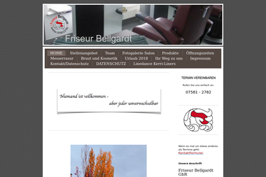 friseur-bellgardt.de - Kosmetikerin Bad Saulgau