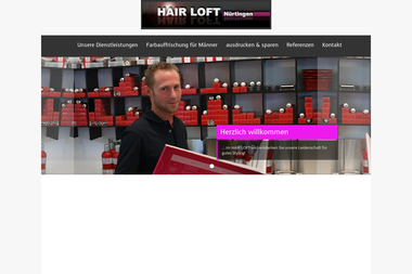 hairloft-nuertingen.de - Friseur Nürtingen