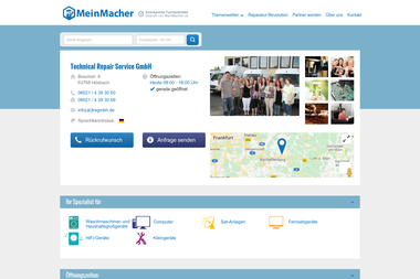 meinmacher.de/seo-partner/radio-albert-gmbh-service-center-5224 - Anlage Aschaffenburg